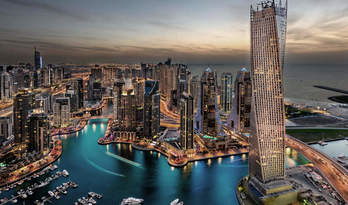Penthouse for sale in residence Cayan Tower in Dubai Marina