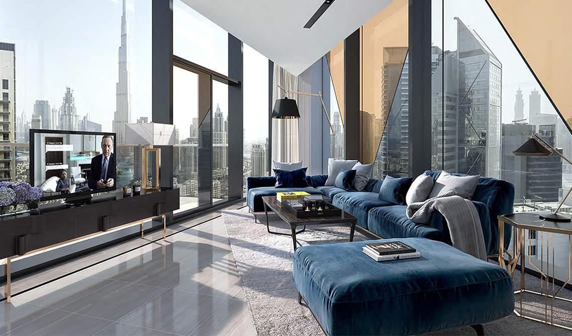 Дубай, Downtown Dubai, апартаменти, кімнат: 1–4, продаж, резиденція «Marquise Square»