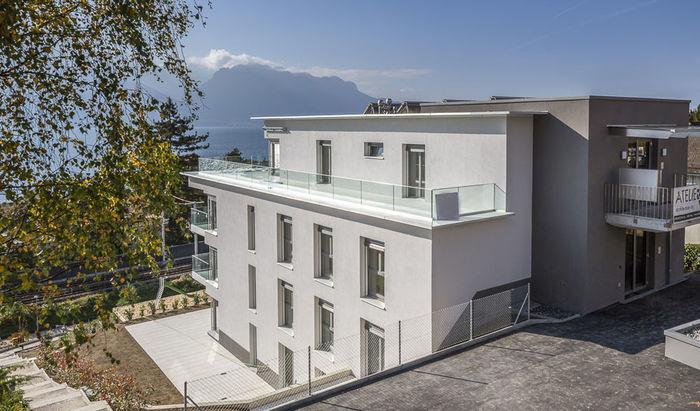 Clarens, apartments, rooms: 3–4, residence «Les Jardins du Lac», for sale - 3