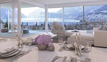 Ennetbürgen, en venta, pisos, habitaciones: 3–4