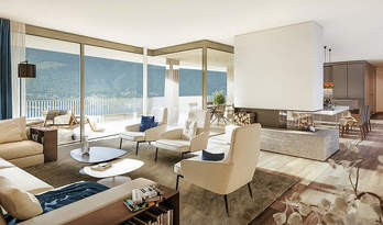 Apartments for sale in new residence in Ascona