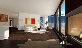 Apartments in new residence in St. Moritz for sale