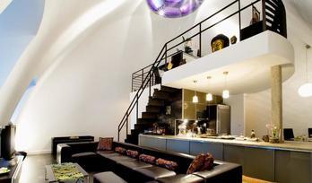 Residence «Korunni Dvur», loft, rooms: 3, Prague, Praha 10, for sale