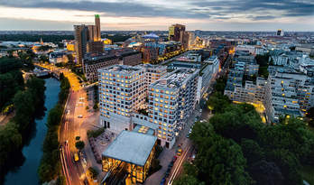 Apartments for sale in residence High Park in the centre of Berlin