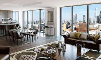 Apartments for sale in residential complex in Goodman's Fields, Whitechapel