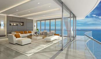 Квартиры на продажу в Fendi Chateau Residences недалеко от Майами Бич